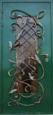 """Дверь стальная """"Лотос"""""""