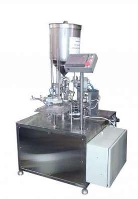 Фасовочный автомат в стакан с запайкой фольгой АФ-1500