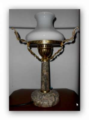Настольная лампа 1950х.
