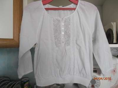 блузка  10-12 лет