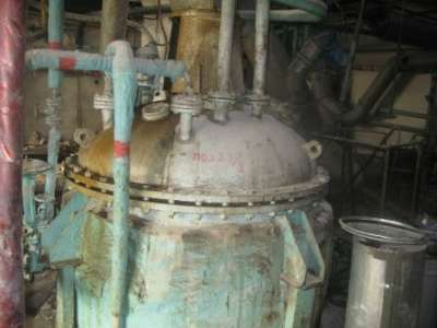 Аппараты с перемеш устр. реактор 2,5м3
