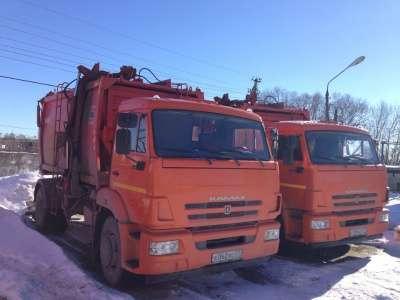 Мусоровоз КАМАЗ ко 440-7 в Москве Фото 3