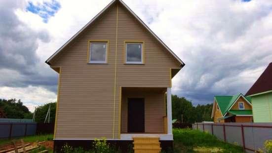 Новый дом 2016 г. постройки в деревне Тендиково