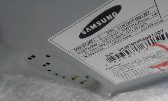 Продам газовую панель SAMSUNG GN642FDXD1, новая