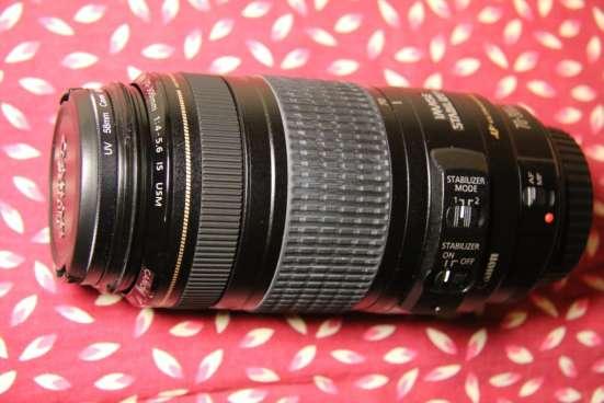 Продам фотообъектив Canon EF 70-300 mm f/4-5.6 IS USM