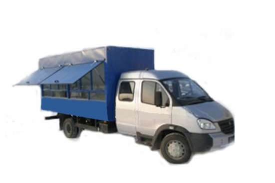 Фургон автолавка