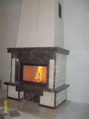 Монтаж каминов, дымоходов для печей, каминов и котлов.