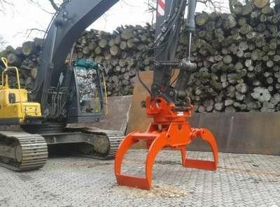 Грейфер 1200 лесной на экскаватор  1200