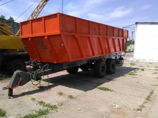 Полуприцеп тракторный самосвальный НТС-10, НТС-20 в г. Запорожье Фото 1