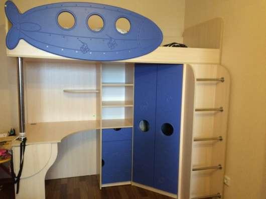 Продам детскую кровать-чердак. Практически не использовалась