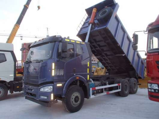 Самосвал FAW J6, 6x4, 370 л. с