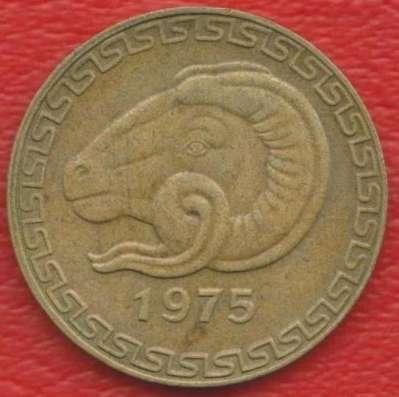 Алжир 20 сантимов 1975 г.