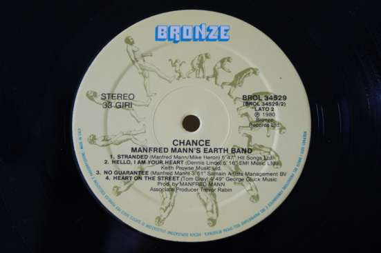 Manfred Mann's Earth Band-1980 Made In ITALY в Москве Фото 2