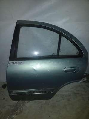Дверь задняя левая в сборе Nissan Almera B10