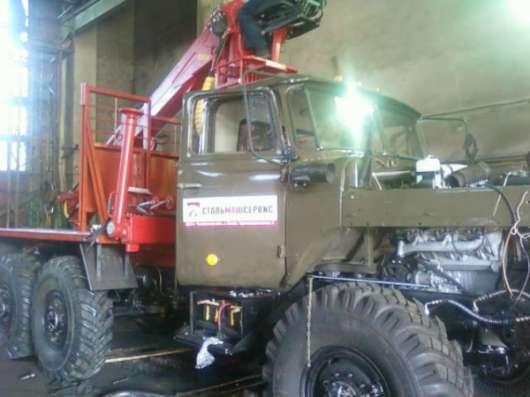 Урал 4320 полный капитальный ремонт 2016 г.с манипулятором ПЛ-97