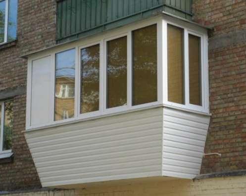 Остекление балконов.Установка окон.