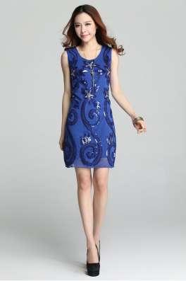 Платье синее праздничное (рассрочка без банка) в Перми Фото 1