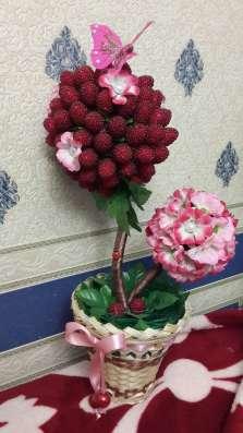 Топиарии и картины из искусственных цветов