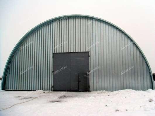 Продажа арочных бескаркасных ангаров в г. Кызылорда Фото 1