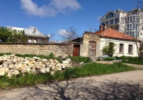 Участок 5,45 сот + 2,5 сот придомовая территория с домом под снос на ул. Матюшенко в г. Севастополь Фото 5