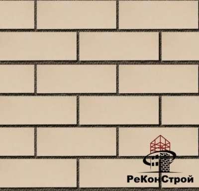 Российский облицовочный кирпич белый КЕРМА
