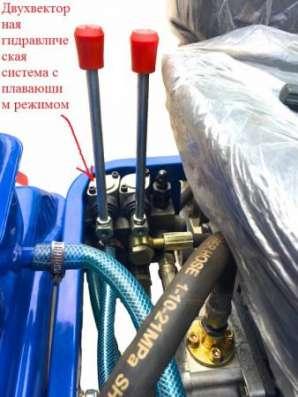 Минитрактор Скаут T-12 + почвофреза + двухкорпусный плуг 220 + козырек в Москве Фото 3