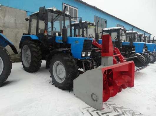Снегоочиститель СШР–2,0П (передняя навеска) на МТЗ-80,82