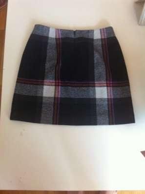 Мини-юбка в английском стиле из шерсти, OASIS