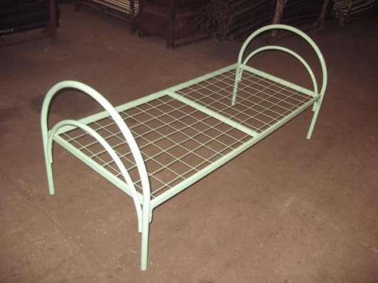 Кровати металлические одноярусные, кровати двухъярусные в Архангельске Фото 2