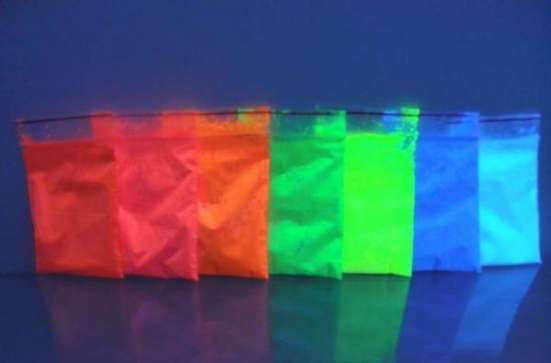 Светящаяся в темноте краска на основе люминофора ТАТ 33 в г. Николаев Фото 2