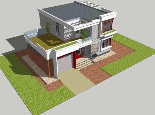 Четырёх комнатный усадебный жилой дом в Бердске Фото 2