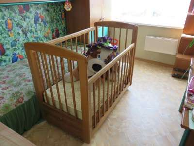 детскую кроватку Лель в Омске Фото 3