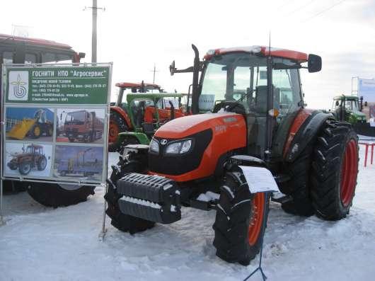 Трактор Kubota M9540