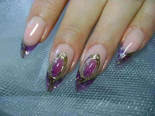 Наращивание ногтей, гель- лак коррекция в Брянске Фото 1