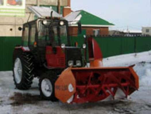 Снегоочиститель фрезерно-роторный ФРС-2,0П
