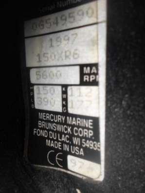 лодочный мотор MERCURY 150, из Японии,2-х тактный,.