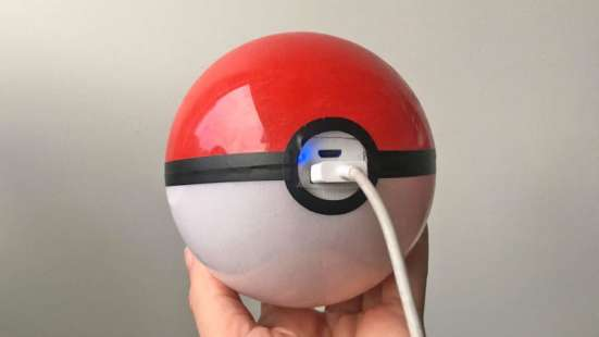 Power Bank Покебол для Pokemon Go