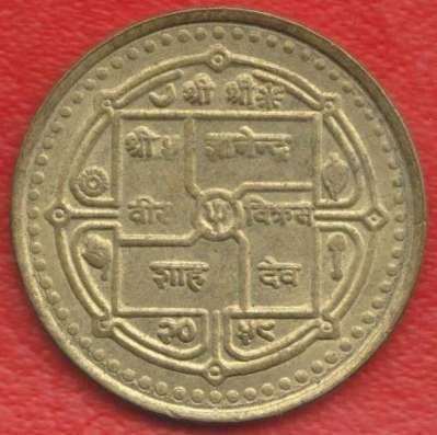 Непал 2 рупии 2001 г.