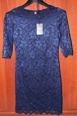 Платье froggy р.42 гипюровое новое с этикеткой, 3/4 рукав