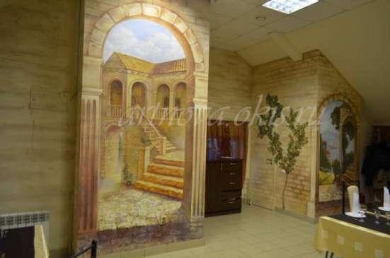 Роспись стен, 3д живописи, декоративная штукатурка