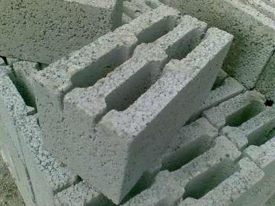 Блоки мелкоштучные керамзитобетонные ООО «Стеновой камень» 40х20х20