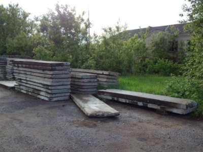 Плиты дорожные б/у и новые в Кирове Фото 2