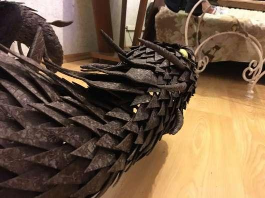 Дракон металлический ручной работы