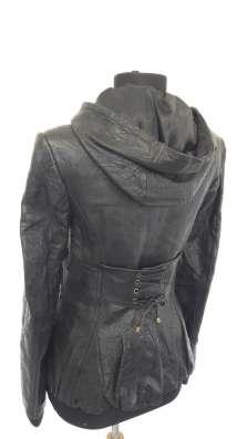Куртка из тесненной кожи