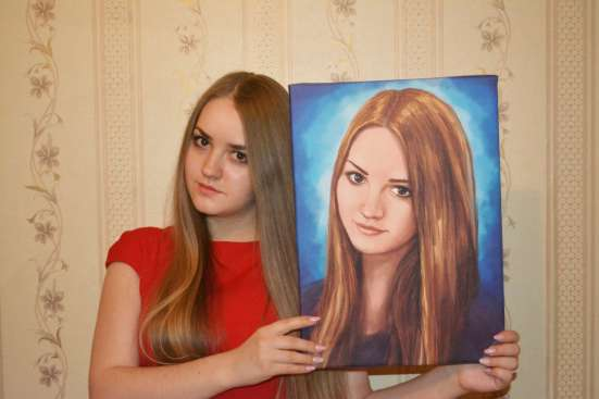 Портрет по фото цифровой