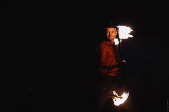 Огненное шоу Барнаул творческая группа АльтШоу фаер шоу Фото 4