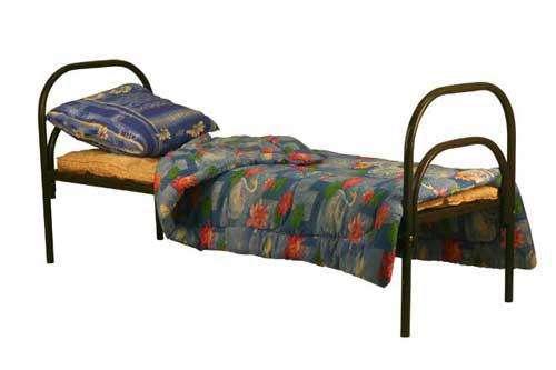 Металлические кровати для пансионата, детских лагерей, опт от производителя.