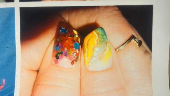 Наращивание, коррекция ногтей и покрытие гелем. Любой дизайн в Калуге Фото 1
