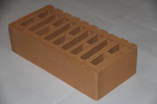 Кирпич лицевой (облицовочный) керамический пустотелый одинарный/утолщенный М150