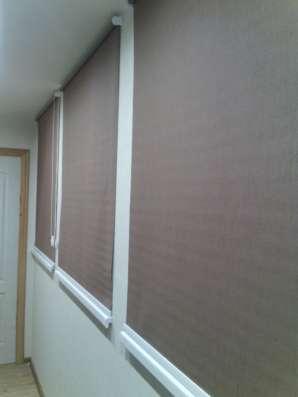 Рулонные шторы, рулонные москитные сетки, жалюзи